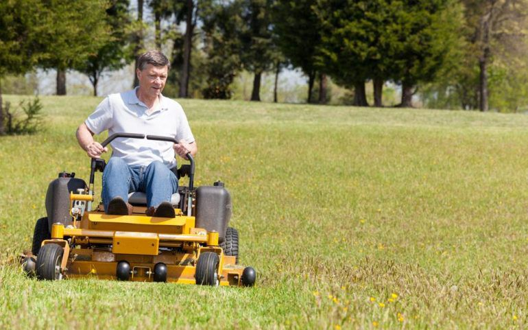 Features of riding lawn mowers