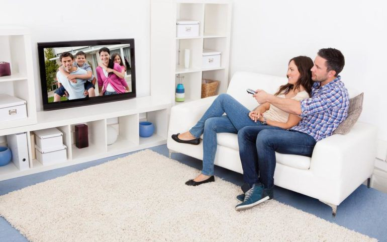 Setting up your living room to compliment your television set