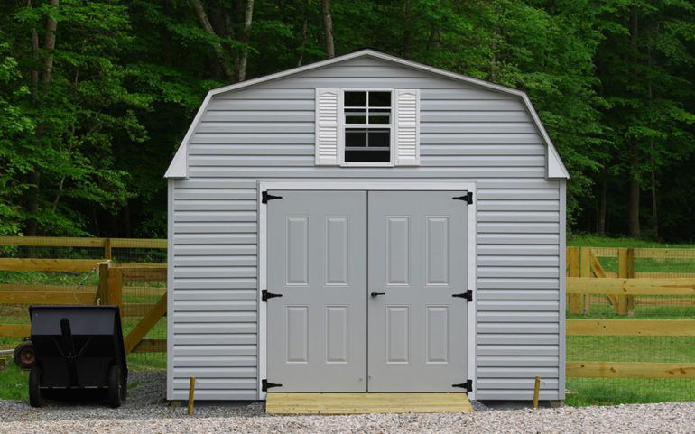 Different types of storage sheds