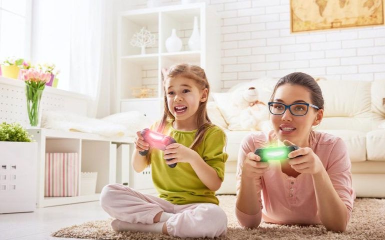 Participating in your child's childhood with toys and games