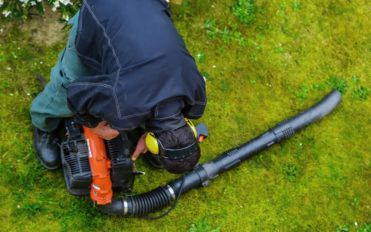 Types of leaf blowers and uses