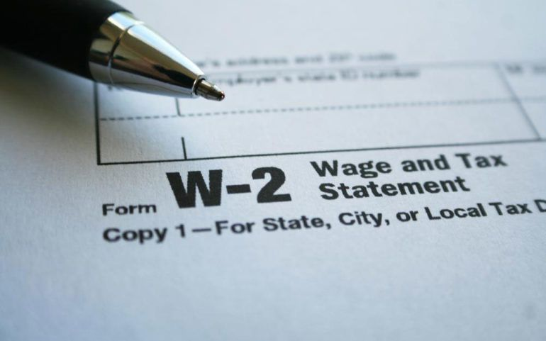 A brief overview of the W-2 tax form