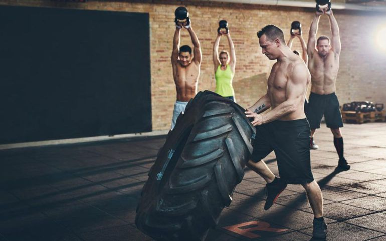 Challenge your core strength with CrossFit exercises