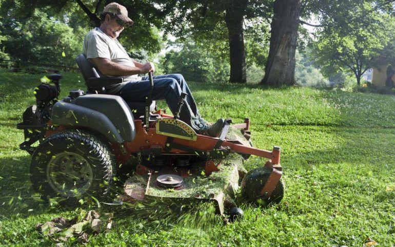 Choosing an appropriate ride lawn mower
