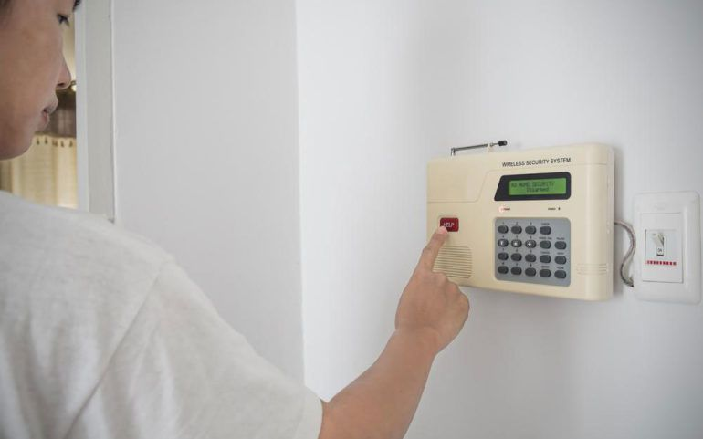 Five popular brands for home security systems