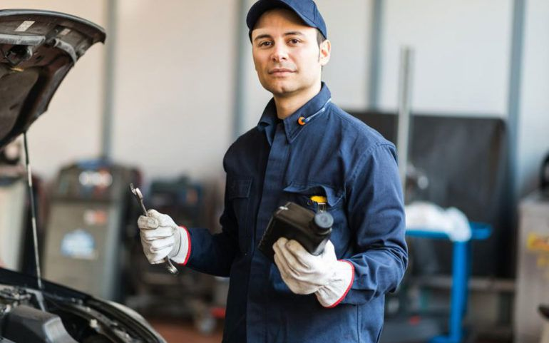 Four types of car lubricants
