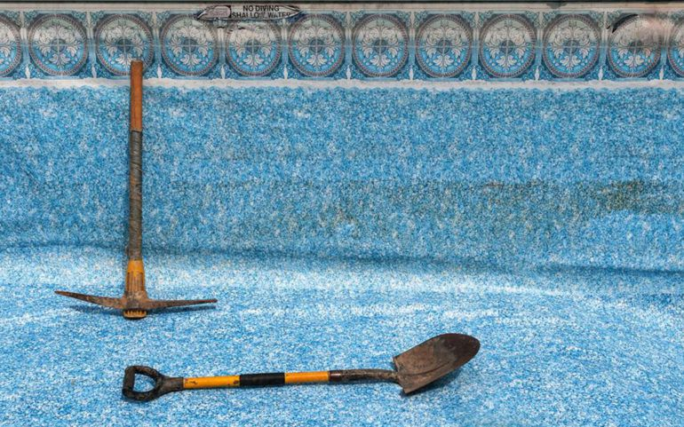 How to patch an Intex pool Liner