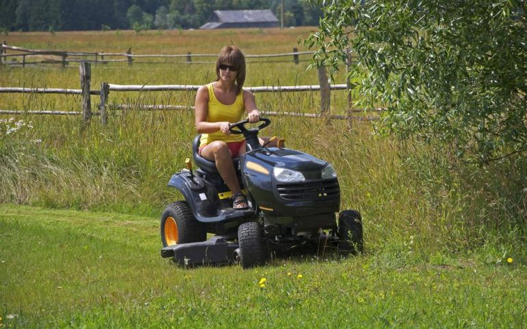 Keep your garden in good condition with ride lawn mowers