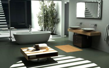 Modern bathrooms are equal to relaxing rooms