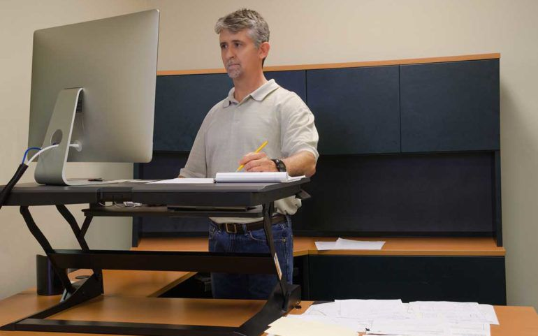 Take a stand with standing desks