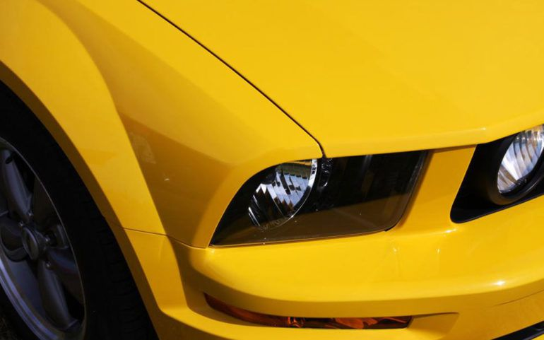 The popular American sports car – Mustang GT