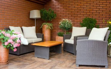 Type of cushions to buy for outdoor wicker furniture