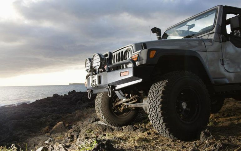 Types of Wrangler Jeeps for lease