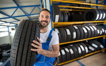 Why is it economical to buy tires from big-box retailers