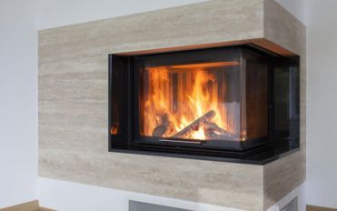 A list of common types of modern fireplaces