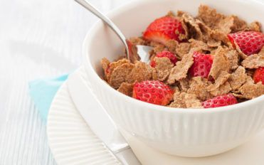 Begin your day with high-fiber cereals for a bright start