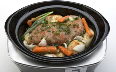 Benefits of ingredients used in a slow cooker recipe