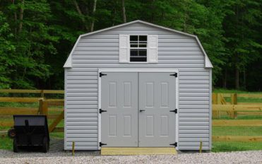 Building a DIY cheap storage shed