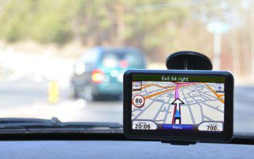 Car navigation with GPS