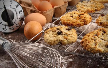 Chewy and decadent oatmeal and raisin cookie recipe