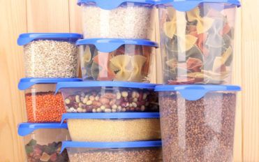 Clever tupperware storage solutions