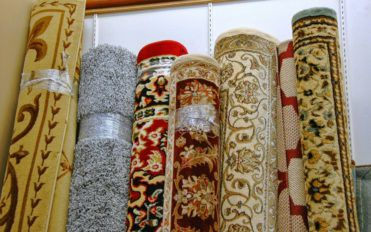 Common materials used in area rugs
