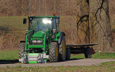Common types of tractors used for various purposes