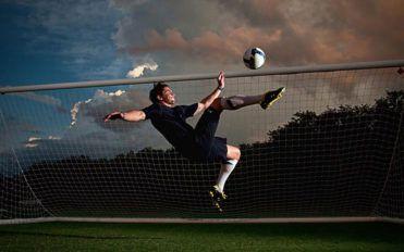 Cycle kick to the origin of football