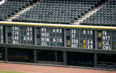 Early scoreboards and the electronic scoreboard