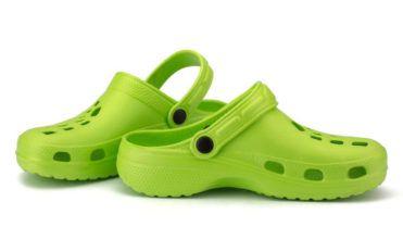 Four benefits of wearing crocs