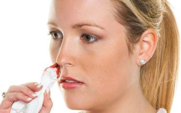 Here are the causes behind nose bleeding