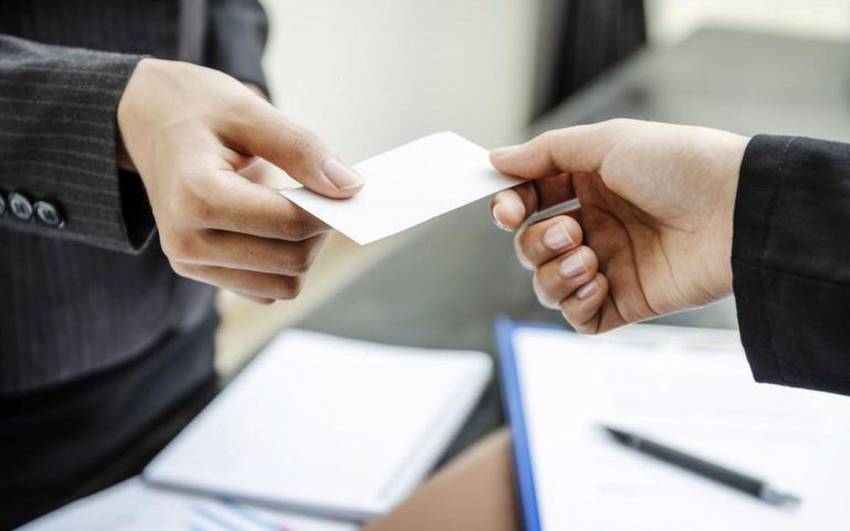 Here's why a getting a business card is a good idea