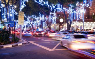 History of commercial Christmas decorations