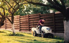 Improving The Lawn Conditions With A Tractor