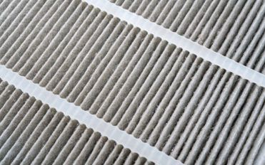 Materials used in air filters