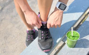 Shoes that Monitor the Run