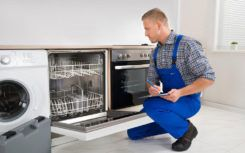 Steps to install a stainless steel dishwasher cover panel