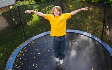 The benefits of trampolining