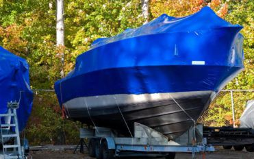 The different types of boat covers