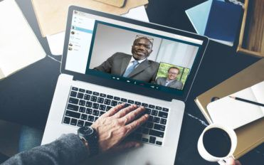 The nuances of online video conference call