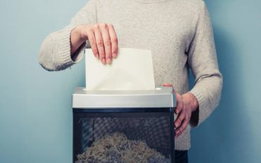 The process followed in free document shredding