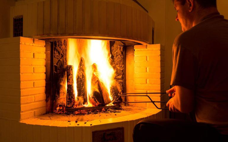 The revolutionary Marino electric fireplace for room heating