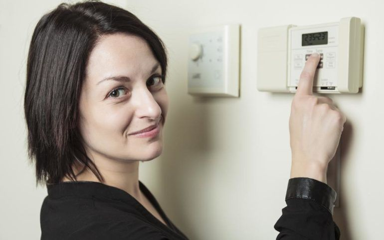 Thermostats for efficient home heating systems