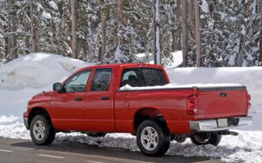 Truck bed covers for protection and aesthetic appearance of vehicles