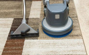 Two different types of carpet cleaning services