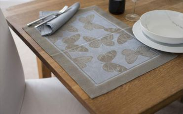 Various types of placemats