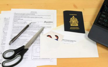 What are the requirements needed for a new passport