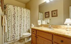 What type of curtains are best suited for bathrooms