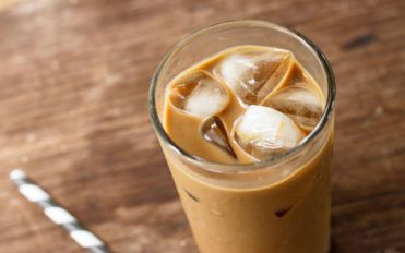 Where did iced coffee come from?