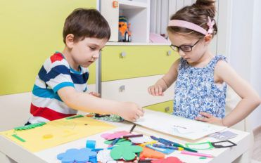 Arts and crafts – An inspiring children's activity